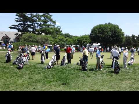The Range at Omaha Country Club 2013 U.S Senior Open