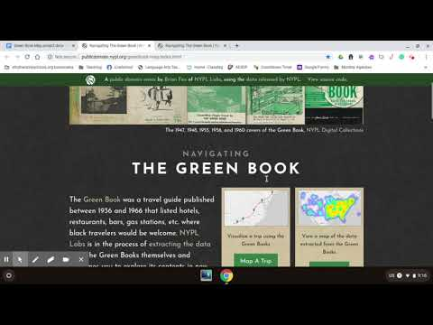 The Green Book Project Tutorial