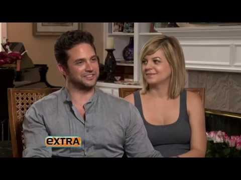 Extra 82913 Kirsten Storms & Brandon Barash
