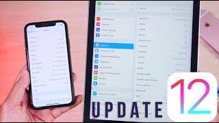 អ្វីដែលអ្នកគួរដឹងពី iOS 12?គួរអាប់ដេតឬក៏អត់ ?