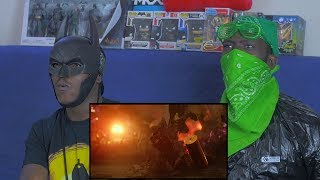 JUSTICE LEAGUE Official Heroes Trailer Reaction