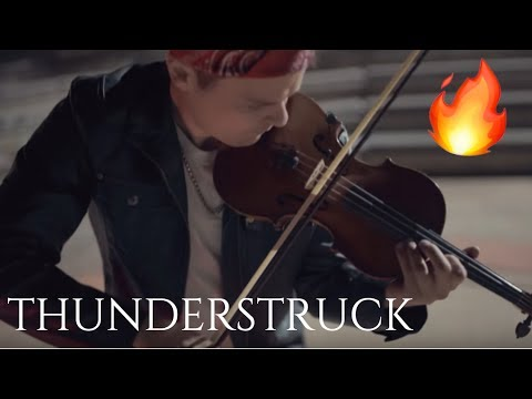 Thunderstruck Violin Cover - AC/DC | Rob Landes - YouTube