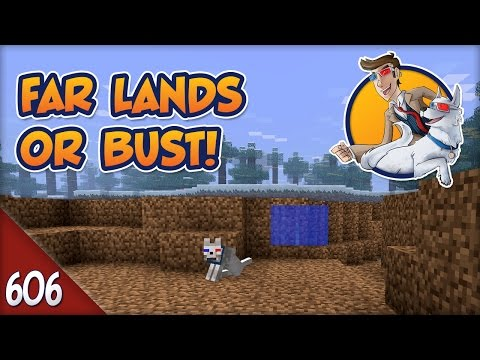 Minecraft Far Lands or Bust - #606 - Scared of the Dark?