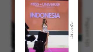 The #65thMissUniverse Southeast Asia delegate In Swimsuit Presentat...
