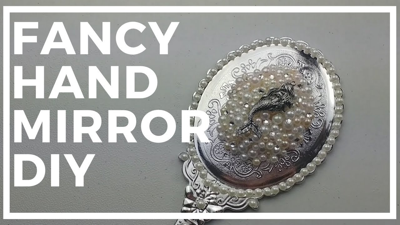 fancy hand mirror. Fancy Dollar Tree Hand Mirror DIY Fancy Hand Mirror C