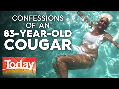 83-year-old Cougar Dates Men In Their 20's | Today Show Australia