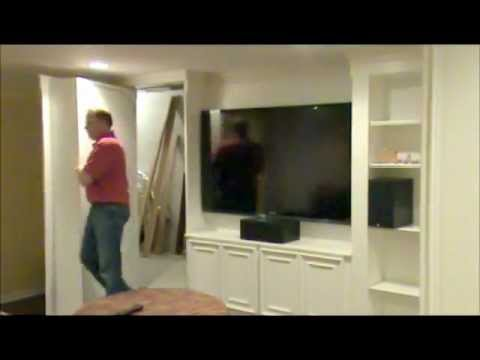 Awesome Secret Door In A Finished Basement In Michigan!   YouTube