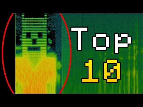 Top 10 Scariest Sounds Heard in Minecraft! (Scary Minecraft Sounds)