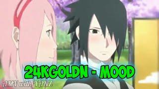 Sasuke & Sakura [AMV] (24kGoldn - Mood)•|AMV with YANZ