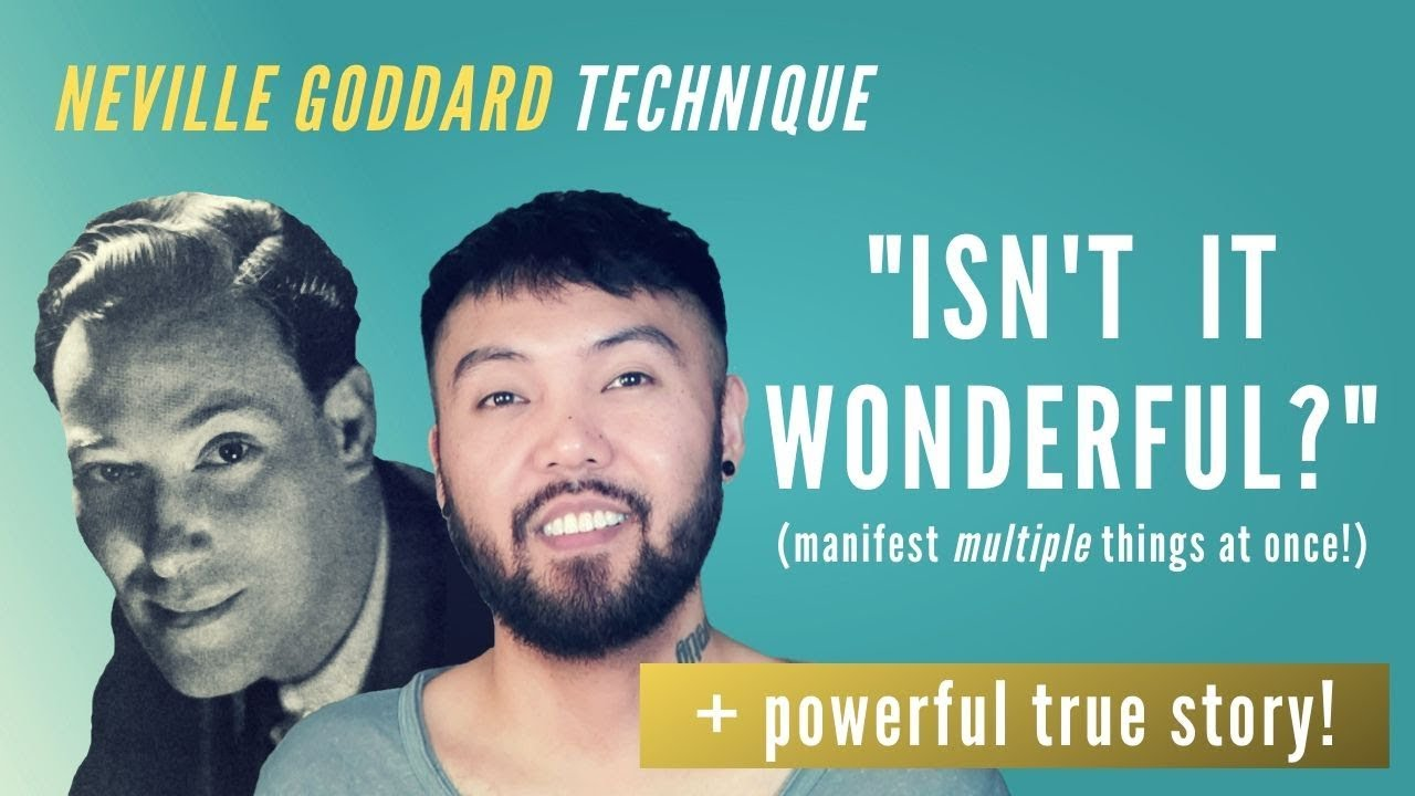 """Download Neville Goddard Technique: """"Isn't It Wonderful?"""" (Manifest MULTIPLE Things At Once!)"""