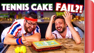 We Try to Bake Mary Berry's TENNIS CAKE... (from The Great British Bake Off!!)