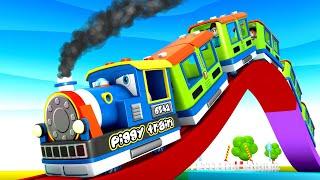 Piggy Train Cartoon - Chu Chu Toy Train Cartoon Toy Factory