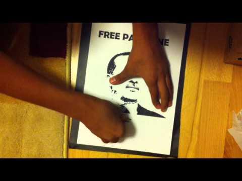 schablonengraffiti selber machen eine anleitung youtube. Black Bedroom Furniture Sets. Home Design Ideas