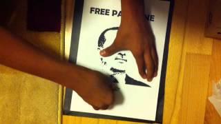 Schablonengraffiti selber machen - eine Anleitung