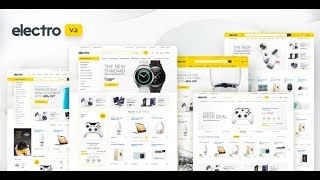 Demo Content Import┇ Electro-2.0 ┇ Electronics Store WooCommerce Theme