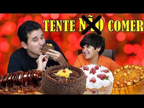 TENTE NÃO COMER DOCES SABOROSOS IRRESISTÍVEIS |TRY NOT TO EAT CHALLENGE | PEDRO MAIA