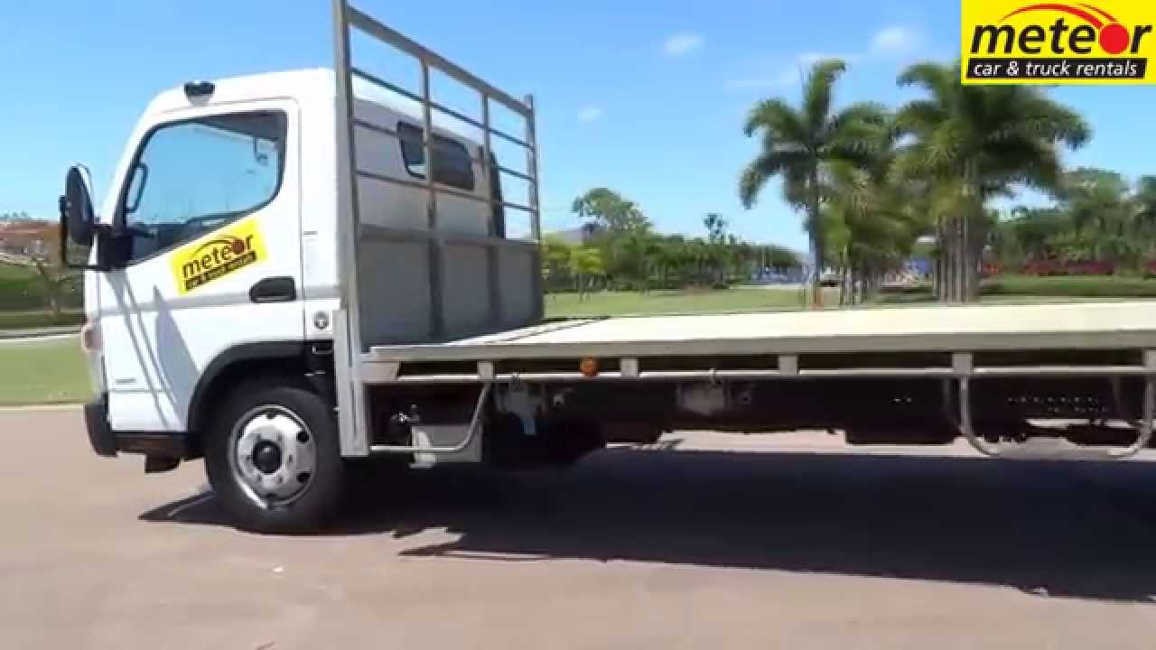 U1986 Tray Top Fuso Canter 918 Cairns Townsville Mackay Mount Isa Ingham Youtube