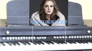 adele Roling in the deep piano