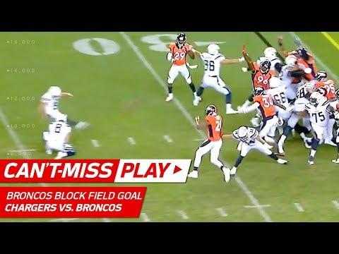 Broncos Game-Winning Field Goal Block! | Can't-Miss Play | NFL Week 1 Highlights