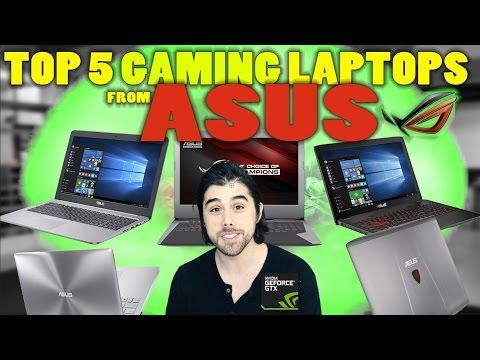 Top 5 ASUS Gaming Laptops (2016)