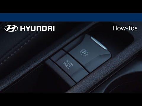 How to Use the Electronic Parking Brake 2018 Hyundai Hyundai
