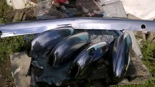 Восстановление (защита) хрома,  бампер ГАЗ-24. МИРовой влог.