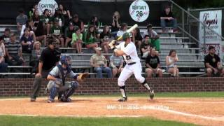 Spencer Cayten-2015 Slidell High Baseball Entire Season Compilation Highlig