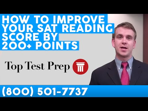 Ways to improve SAT score?