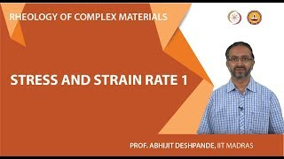 Stress and strain rate 1