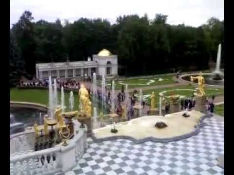 Самсон (фонтан, Петергоф) 2009 год