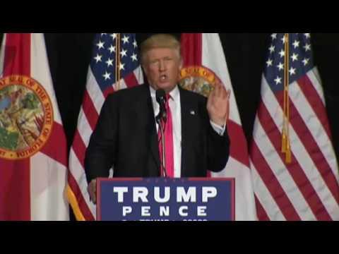 Donald Trump in Tampa, Florida FULL Speech 8/24/16