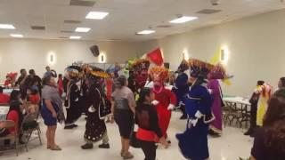 Danza de los chinelos en Houston tx