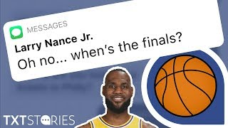 NBA Finals Aren't The Same Without LEBRON JAMES