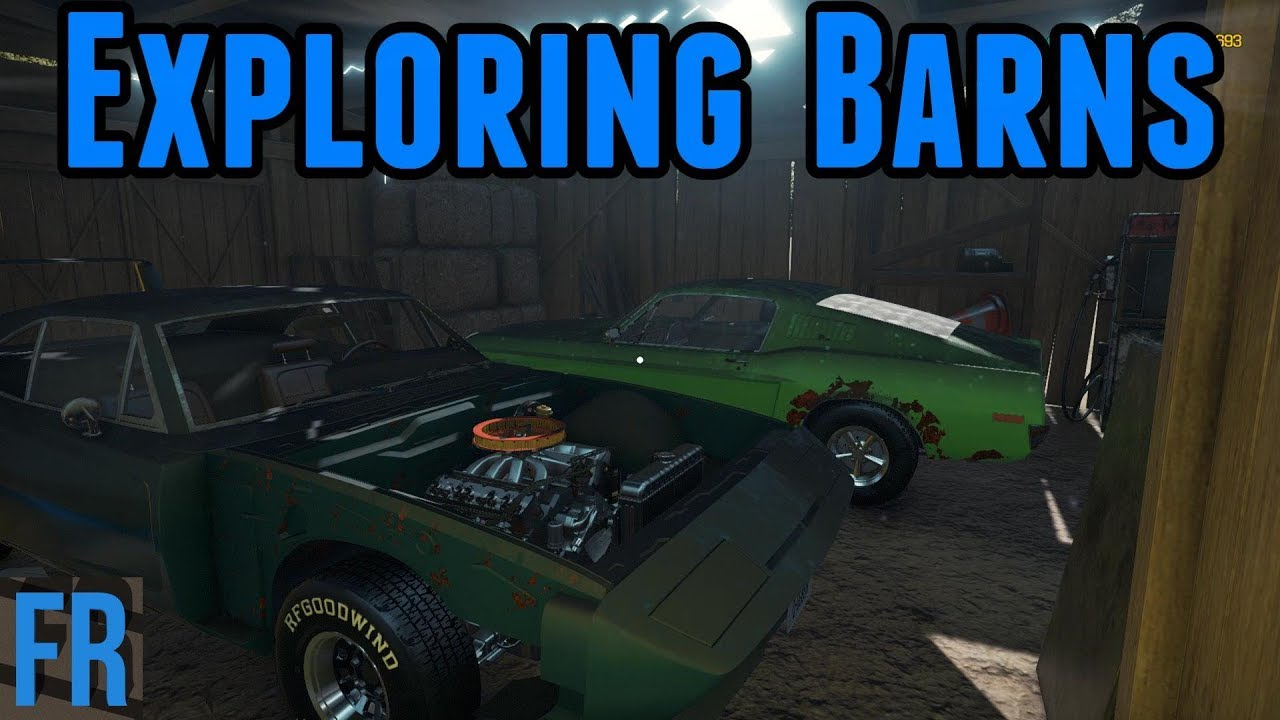 Car Mechanic Simulator 2018 Exploring Barns
