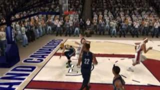 LeBron James Top 10 Dunks - NBA LIVE 08 Style