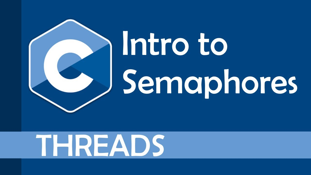 Introduction to semaphores in C