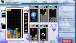 Tetris Friends - vs hacker