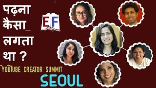 Academic Experiences of Top YouTubers | Creator Summit 2018 Seoul |