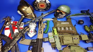 Military and Medieval Weapons Toys ! Box of Toys Rifles,Swords,Guns & Equipment Toys