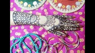 New Modern Dubai Arabic mughlai Style Mehndi Design Full Hand 2018 Eid Weddings Diwali Special