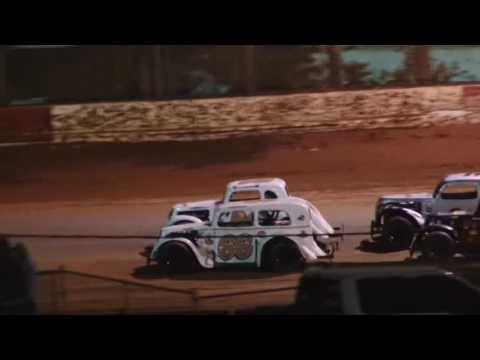 Legend Cars County Line Raceway 11-11-16