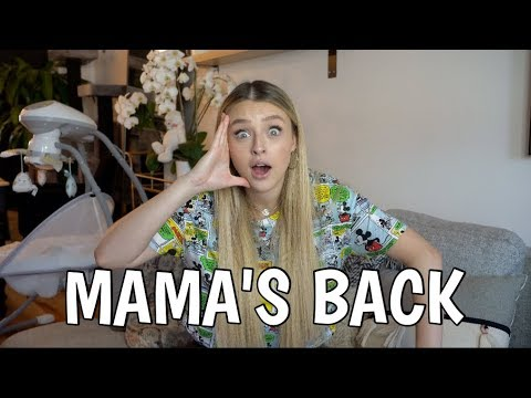 MAMA'S BACK! -  Musique, Accouchement, Billie Lou etc. || Alicia Moffet
