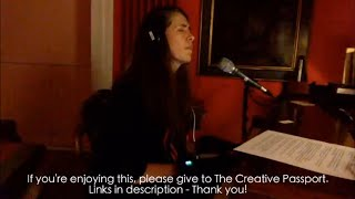 iamamiwhoami; fountain by Imogen Heap - live improv for The Creative Passport no 3