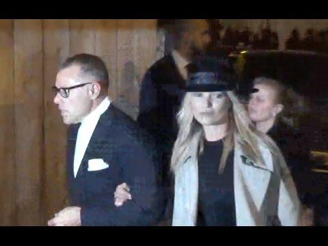Kate MOSS @ Paris 28 february 2017 Fashion Week show Yves Saint Laurent / février #PFW