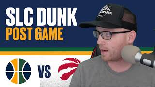 Utah Jazz vs Toronto Raptors Post Game Reaction - Ricky Rubio Game winner!