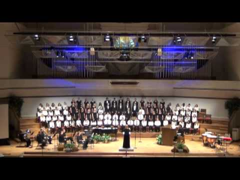 """BGHS Choir  Performing """"Down in the River to Pray"""""""
