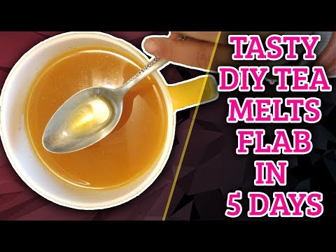 Melt Belly Flab FAST (at home) with this DYI Tumeric Tea Weight Loss Recipe