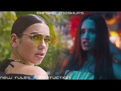 Jax Jones & Dua Lipa - Instruction / New Rules [Ft. Demi Lovato & Stefflon Don] (Mashup)
