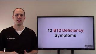 12 Vitamin B12 Deficiency Symptoms