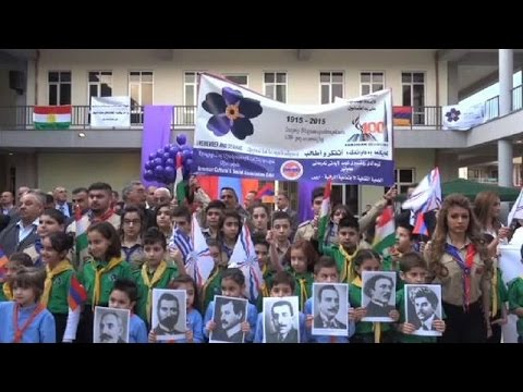 Iraqi Armenians mark centenary of Ottoman massacres